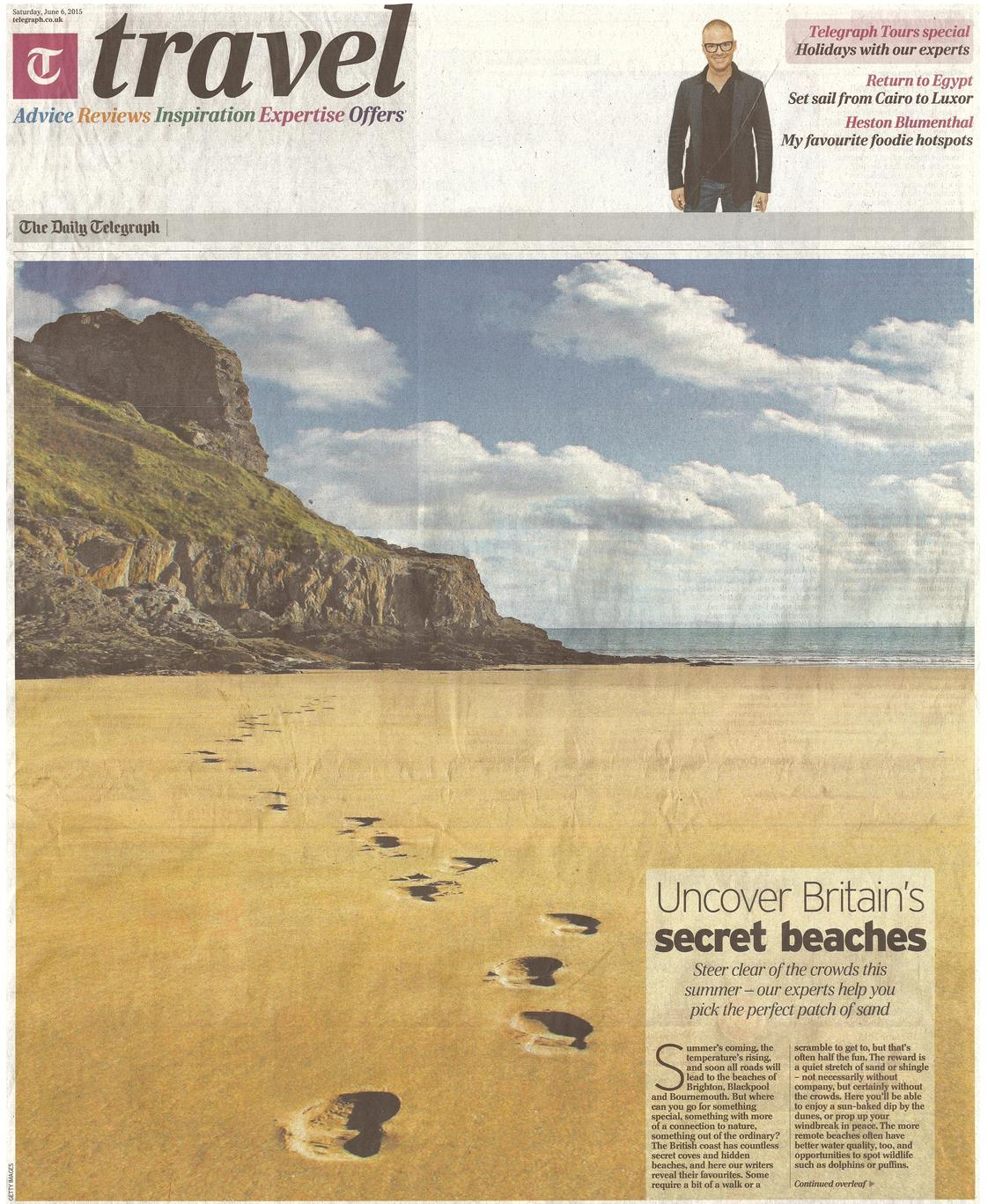 Telegraph Secret Beaches Cover
