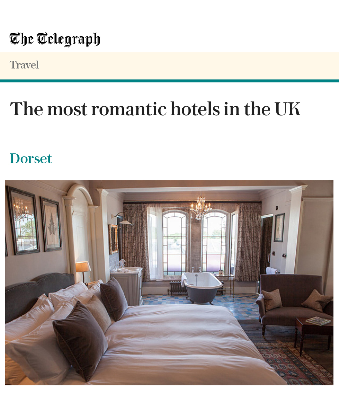 Romantic Hotels - Dorset